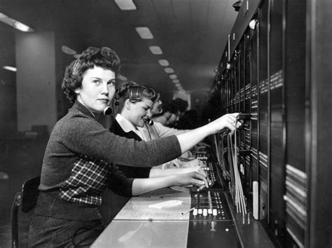 Image result for switchboard operator