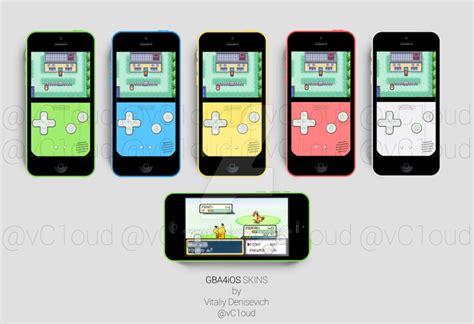 iphone 5c skins iphone 5c gba4ios skins concepts by vitalovitalo on deviantart