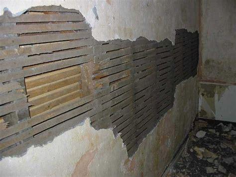 repair  remove internal walls repairing plaster