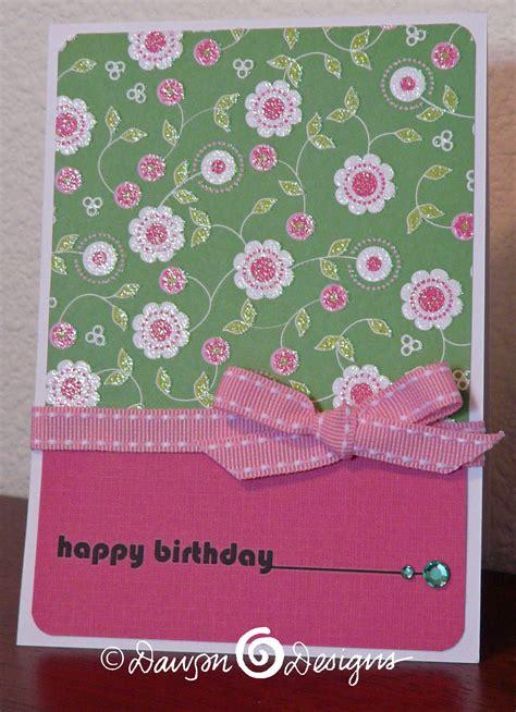 Simple Birthday Cards  Stephanie's Designs, Cards & Creations