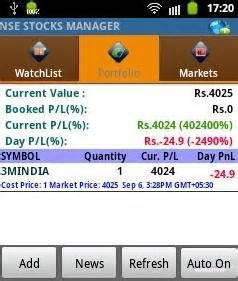 nse streaming quotes