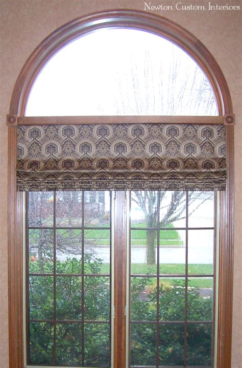 arched window newton custom interiors