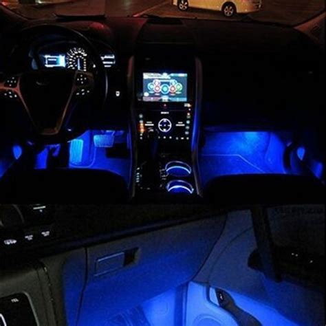Car Lights Inside by Aliexpress Buy 4x 3led Interior Car Decorative Light