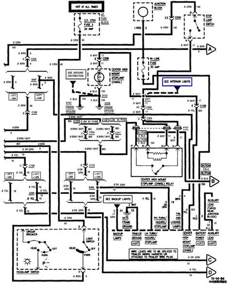 93 S10 Radio Wiring by Chevy Blazer Ke Parts Diagram Downloaddescargar