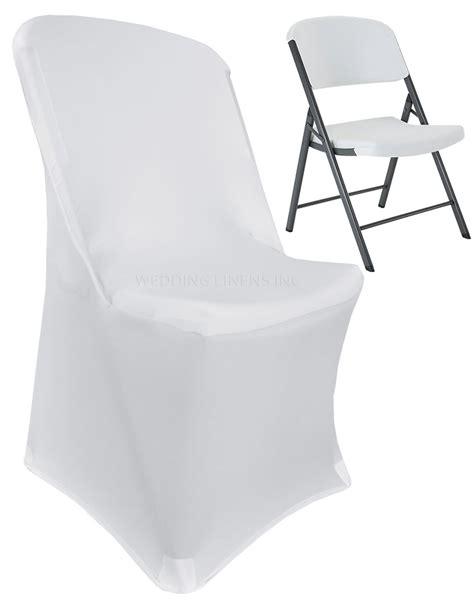 white lifetime folding spandex chair covers stretch lycra