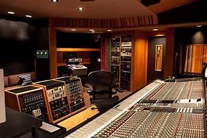 Henson recording studios studio b control room gallery
