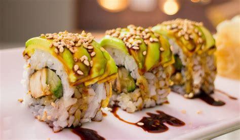 types  sushi   order  youre allergic