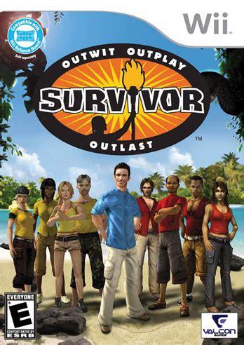 Wii Survivor tv show Video Game - GamesPlus