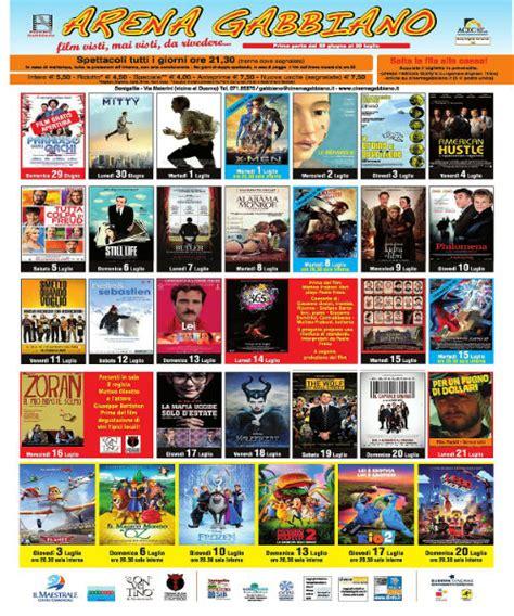 Cinema Gabbiano Senigallia Oggi Cinema Gabbiano Senigallia Tornano I All Aperto
