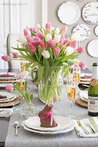 setting a simple easter table with decorations you can With simple table decoration ideas for great celebrations