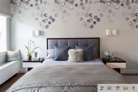In small bedrooms where floor space is limited, think vertical. Bedroom Wall Decoration Ideas