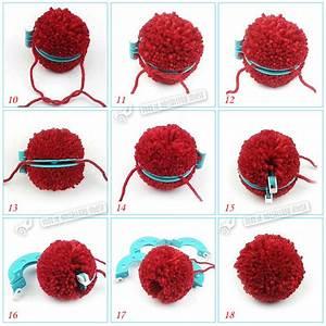 Pompon Selber Machen : pompon set selber machen bommel maker pompom macher 4 versch gr en kunst diy ebay ~ Orissabook.com Haus und Dekorationen