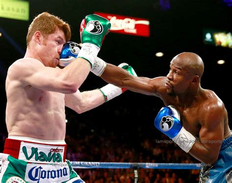 floyd mayweather jr  saul canelo alvarez boxing fight