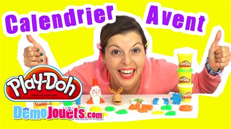 play doh calendrier de l avent 2015 p 226 te 224 modeler d 233 mo jouets
