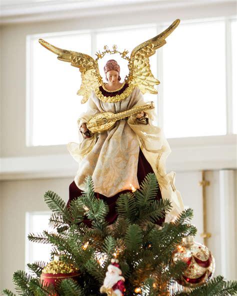 christmas angel angel christmas tree topper balsam hill christmas