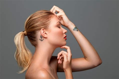 anker tattoo motive  coole ideen fuer ihre naechste
