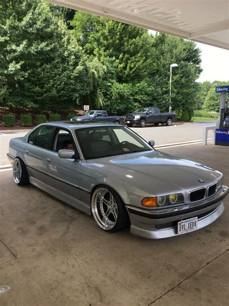 Modified Silver Cars by Bmw E38 Silver Racing Dinamics 19 Quot Dish Rims Bmw