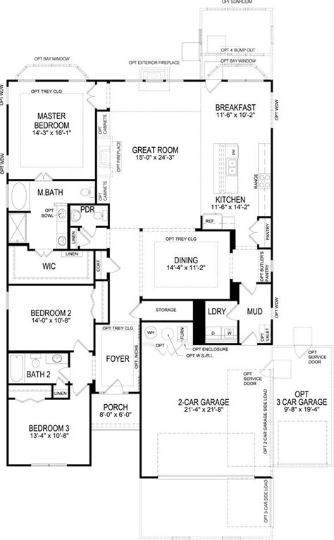 Beazer Homes Floor Plans 2006 by Beazer Single Story Floor Plans Gurus Floor