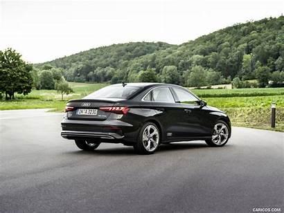Audi A3 Sedan Rear Line Quarter Three