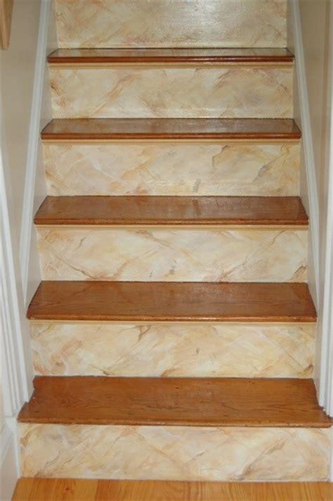 Floor & Stairs Murals   Modern   Staircase   Boston   by