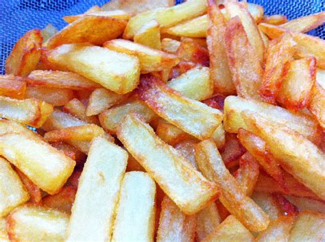 recette cuisine gastro recette frite pommes de terre croustillantes maison