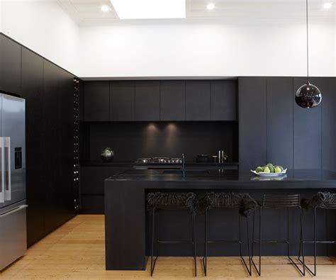 kitchen design and black dekor mobel eine matt schwarze k 252 che macht eine mutige 7965