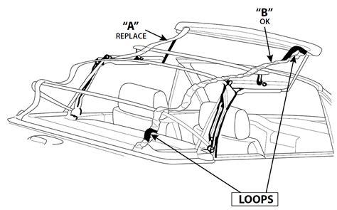 bmw  series convertible top tension straps  straps
