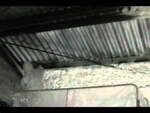 Renovation Toiture Fibro Ciment Amiante : icynene isolation d 39 une toiture en fibro ciment dans le 17 youtube ~ Nature-et-papiers.com Idées de Décoration