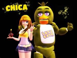 MMD F-NaF Chica Toy