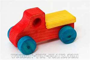 free woodworking toy truck plans diy project