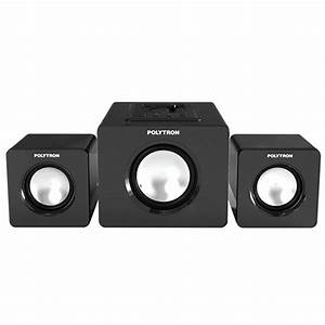 Polytron Pma 3100 Multimedia Speaker Aktif 2 1 Channel