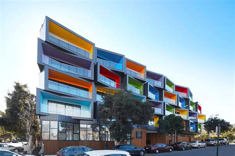 This New Apartment Building Is A Jumble Of Colorful