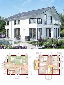 Haus Bauen Ideen Grundriss : modernes design haus mit satteldach einfamilienhaus ~ Orissabook.com Haus und Dekorationen