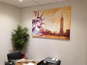 Bureau New York : d coration de bureau et salle d 39 attente d co new york ~ Nature-et-papiers.com Idées de Décoration