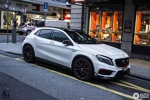Mercedes Gla Blanc : mercedes benz gla 45 amg edition 1 10 march 2016 autogespot ~ Gottalentnigeria.com Avis de Voitures