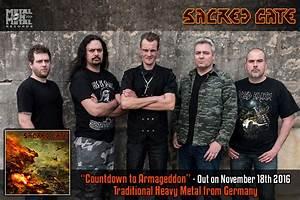 SACRED GATE Release Countdown To Armageddon Album; Audio ...