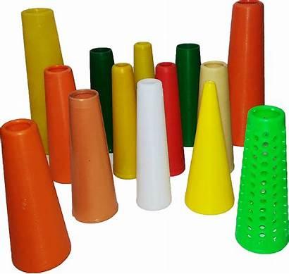 Plastic Cones Cone Raw Yarn Textile Material