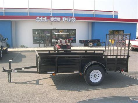 kitchen cabinets on wheels carry on 6 4 x 10 landscape utility trailer high steel sides 6268