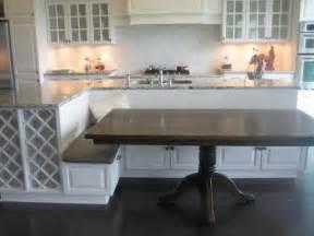 kitchen island bench ideas best 25 island table ideas on