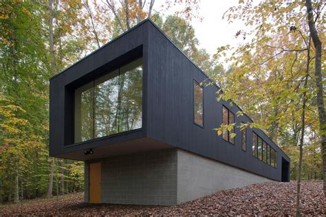 in house black house hidden in the forest by in situ studio your no 1 source of architecture and