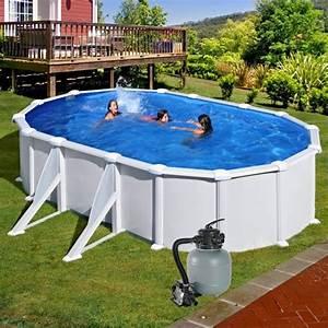 Nadzemní bazény s pískovou filtrací
