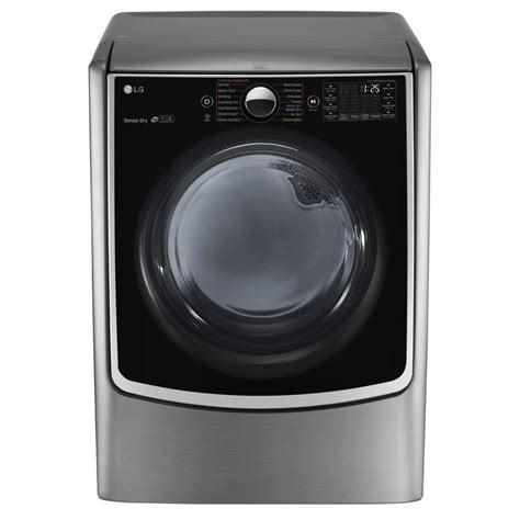 Shop LG 7.4 cu ft Electric Dryer (Graphite Steel) ENERGY