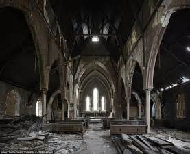 Image Gallery inside abandoned churches