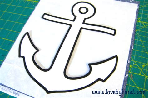 anchor template craftaholics anonymous 174 fast and easy anchor pillow tutorial