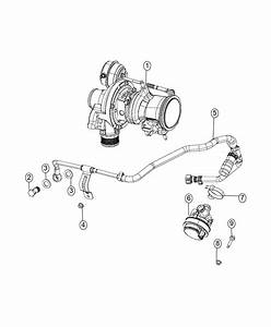 2016 Jeep Renegade Pump  Auxiliary Coolant  Canada  Mexico