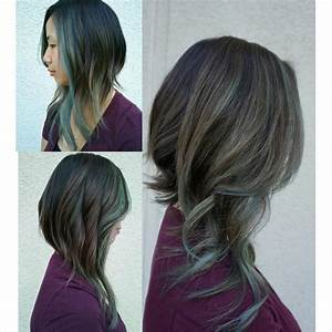 The Show Stopper: Dramatic A-Line Bob With Fancy Color ...