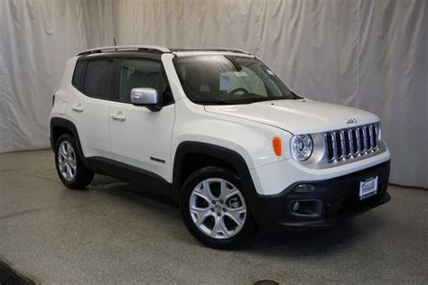 New 2018 Jeep Renegade Limited Sport Utility In Schaumburg