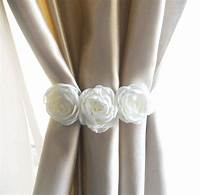 curtain tie back ideas White Curtain Tie Backs Ideas | Dearmotorist.com