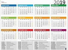 Calendario 2019 3 Imagenes Educativas