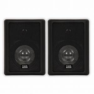 Acoustic Audio 151b Indoor Outdoor 2 Way Speakers 600 Watt